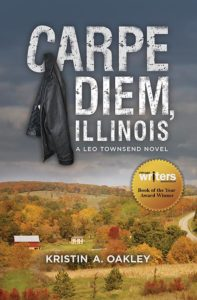 The covers of Carpe Diem, Illinois and God on Mayhem Street