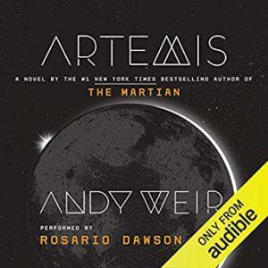 Artemis audible cover