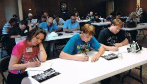 In Print members writing