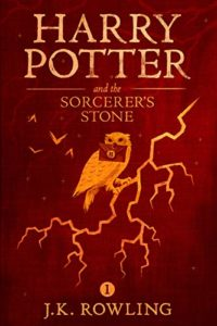 The cover of Harry Potter and the Sorcerer's Stone