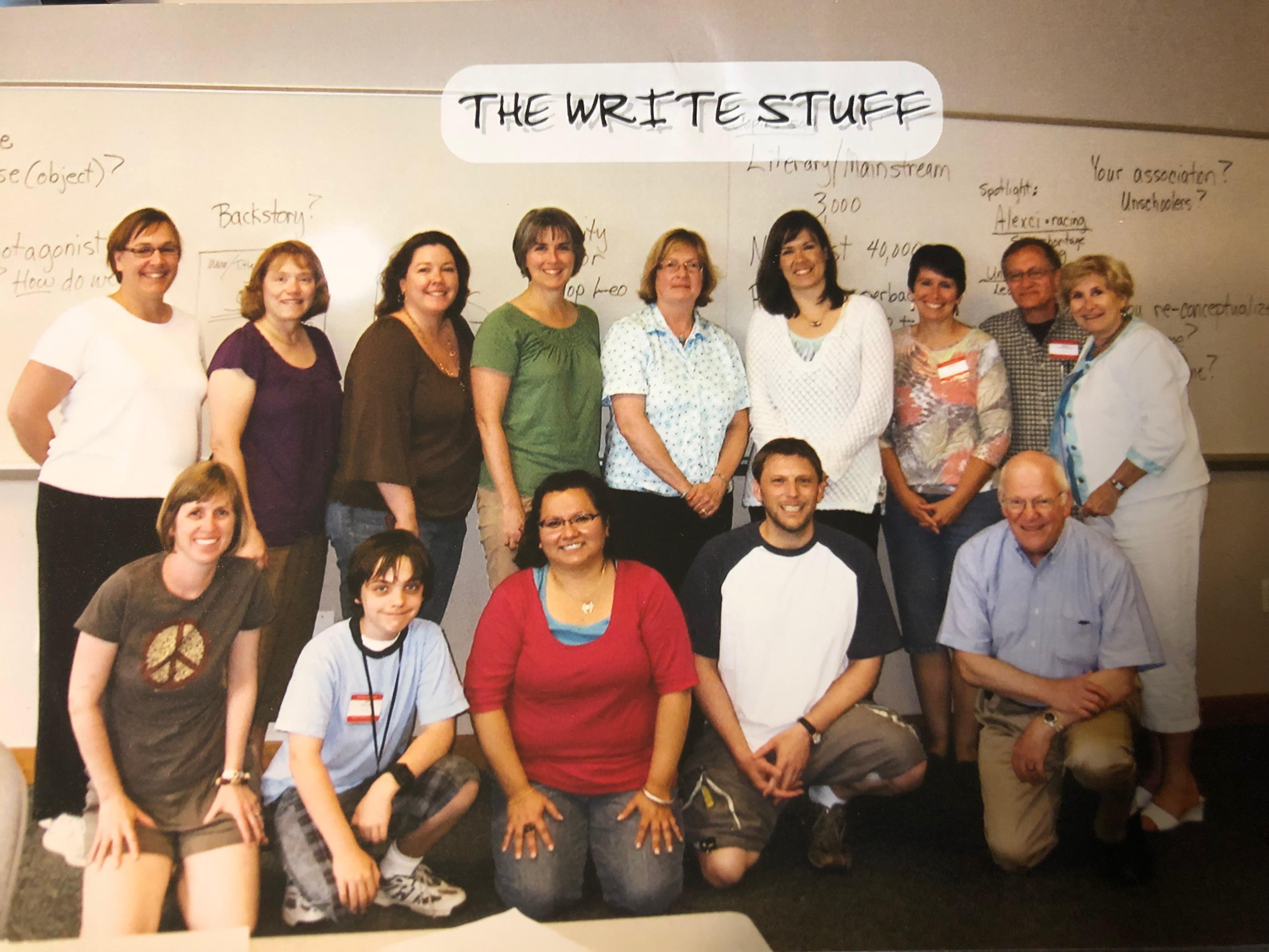 Christine De Smet's 2009 Write-by-the-Lake Class