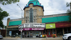 The facade of the Barrymore Theatre