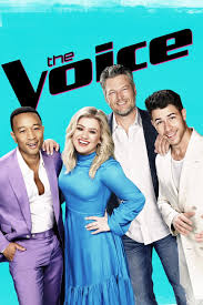 The poster of The Voice
