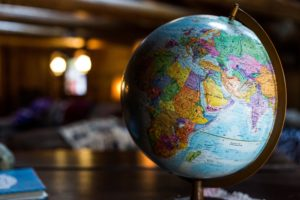 Colorful globe