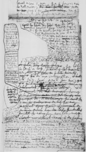 """From a draft of Marcel Proust's """"Remembrance of Things Past"""