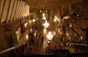 Wieliczka Salt Mine lobby