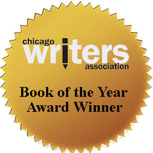 Chicago Writers Association Book of the Year Award medallion