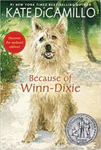 """Cover of """"Because of Winn Dixie"""""""