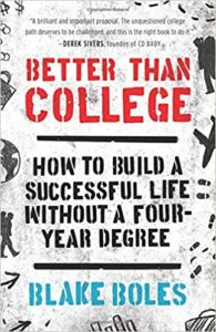 Cover of Better Than College Book