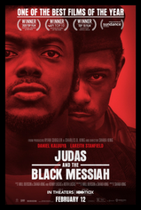 Judas and the Black Messiah poster with Daniel Kaluuya and Lakeith Stanfield