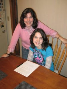 Rebecca and her daughter Madelyn