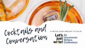 Chicago Writers Association's Cocktails and Conversation logo