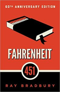 The cover of Fahrenheit 451